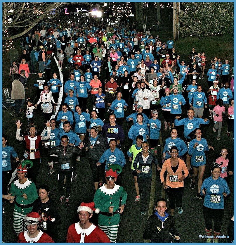 the third annual christmas town 5k will be held on saturday - Christmas Town North Carolina